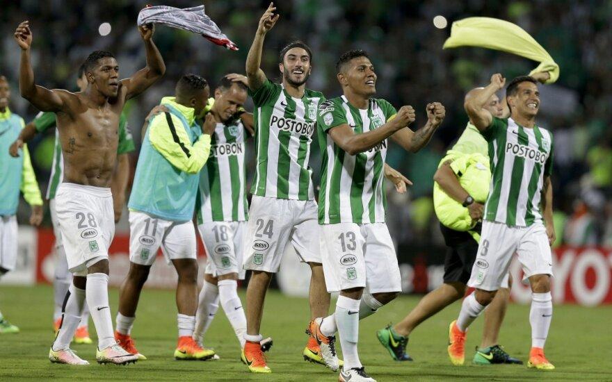"""Atletico Nacional"" futbolininkai"