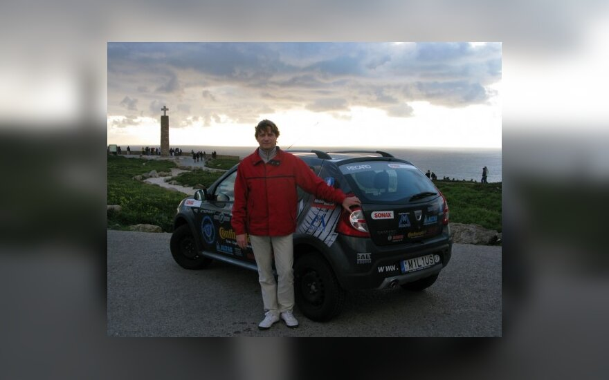 V. Miliaus kelionės pradžia - Cabo da Roca