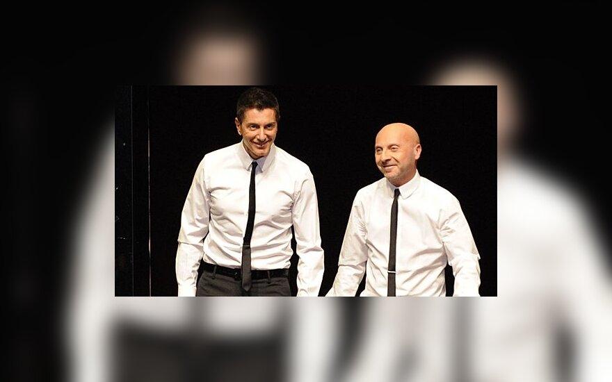 Domenico Dolce ir Stefano Gabbana