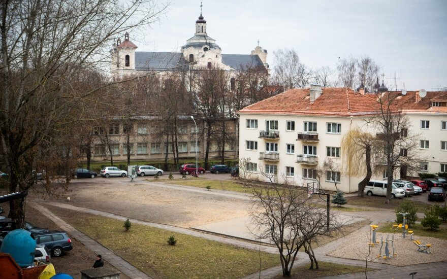 Courtyard on Vokiečių Street