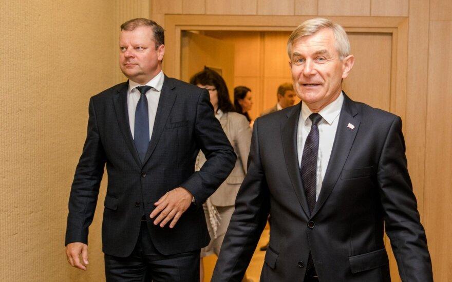 Saulius Skvernelis, Viktoras Pranckietis