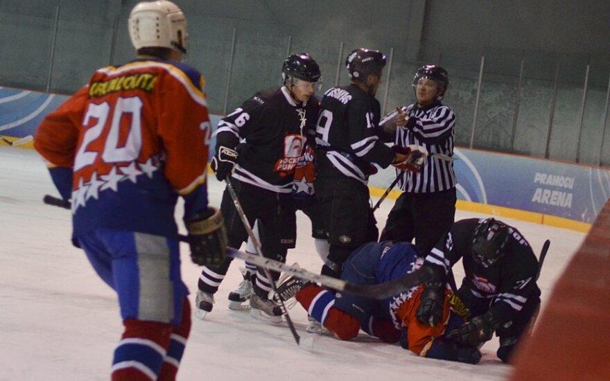 """NLRL rungtynės: Vilniaus """"Hockey punks"""" - Vilniaus """"Lokiai"""""""