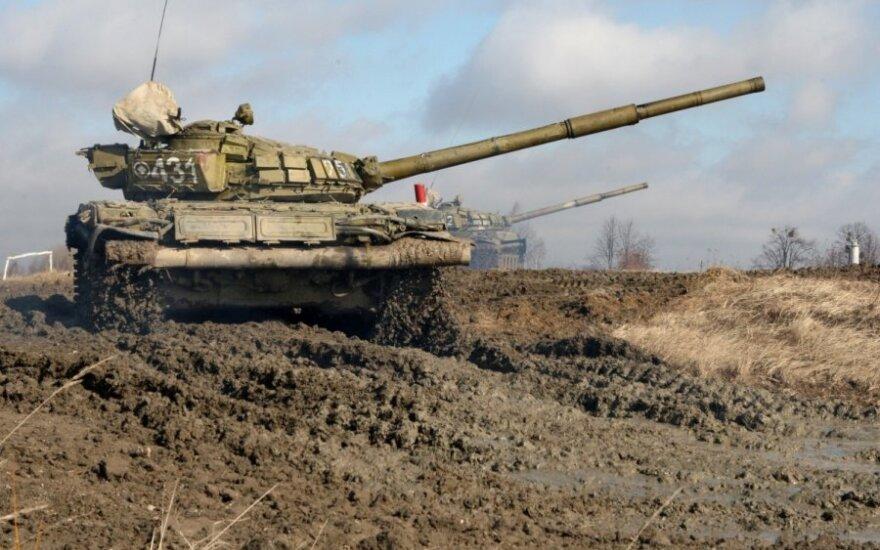Šoigu skelbia apie karinių pajėgų stiprinimą Kaliningrade