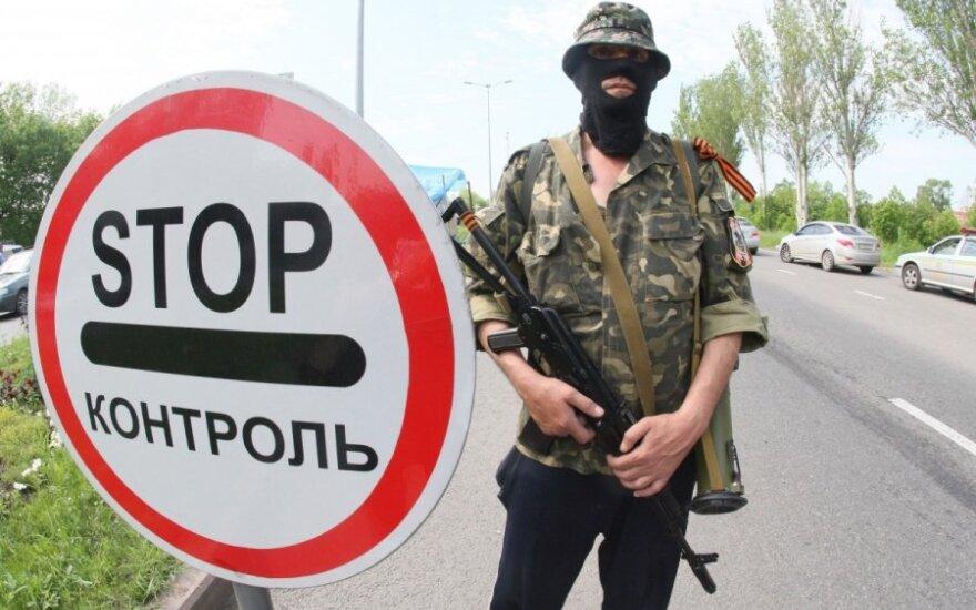 Rusija aiškina, kodėl nereaguoja į Ukrainos separatistų prašymą