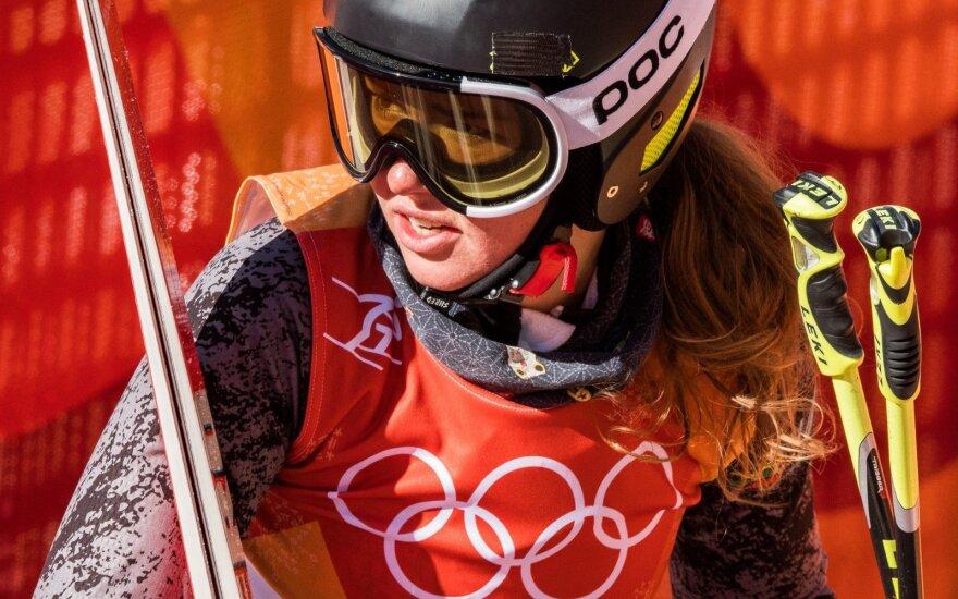 Pjongčango olimpiada: Kalnų slidinėjimas, didysis slalomas – Ieva Januškevičiūtė