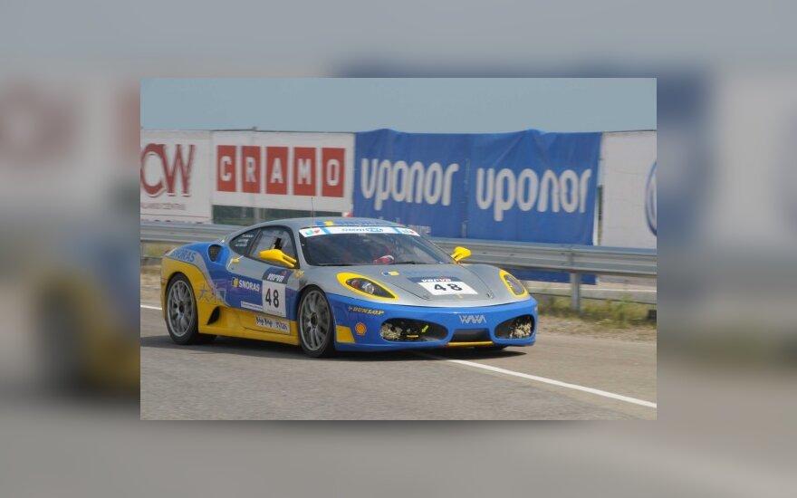 """1000 km lenktynėse bus galima išvysti ir """"Ferrari"""""""