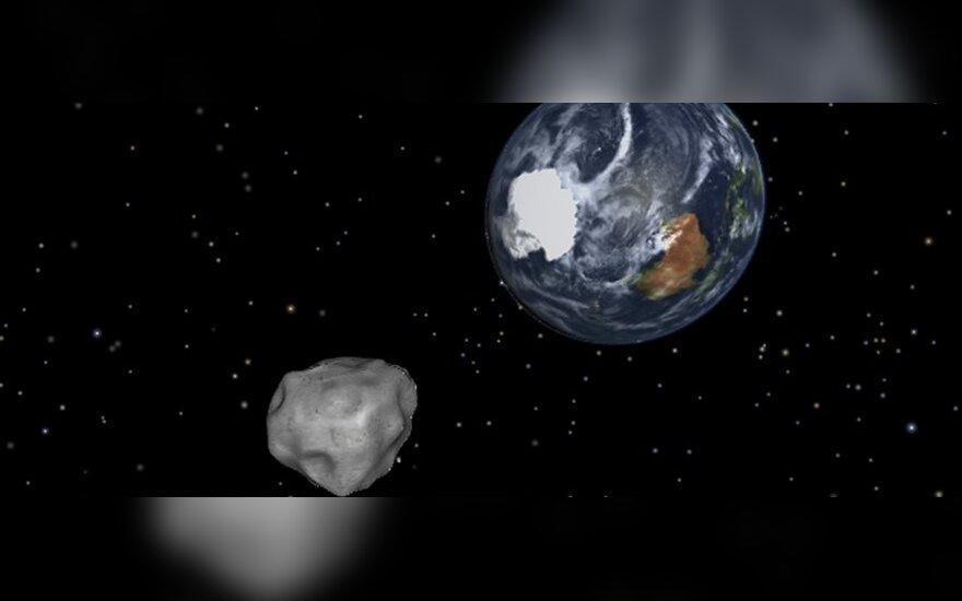 Arčiausiai Žemės praskriesiantis asteroidas