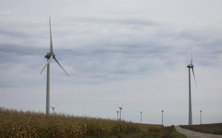 Estijoje dėl grėsmių iš Rusijos užblokuotas didelio vėjo jėgainių parko jūroje projektas