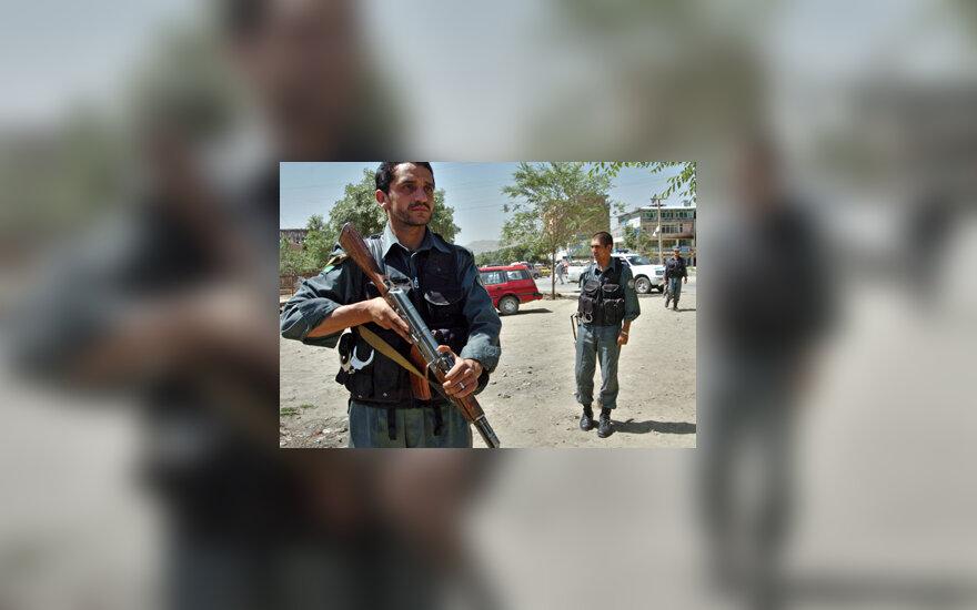 Afganistano policija
