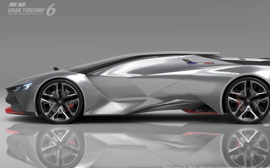 """""""Peugeot"""" Frankfurte pristatys daug sportiškų modelių"""