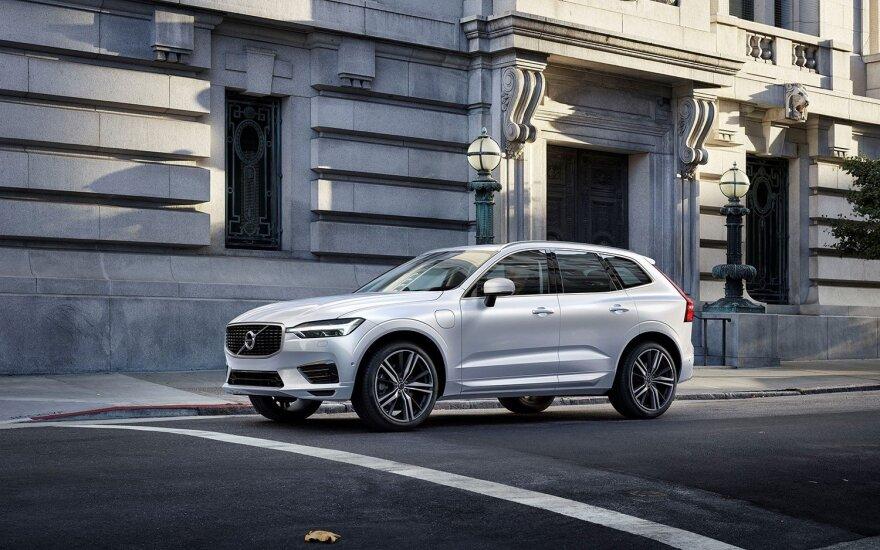 """""""Volvo Cars"""" savo 90-ąjį gimtadienį paminės pradėdama naujojo XC60 gamybą"""