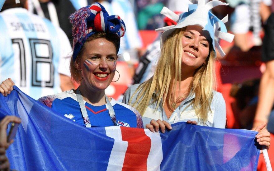 Islandijos futbolo rinktinės gerbėjos