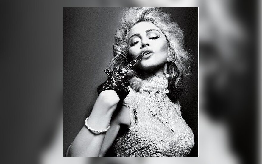 "Madonna. ""Interview magazine"" nuotr."