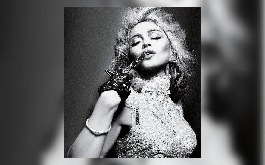 "Madonna. ""Interview magazine"" nuotr."