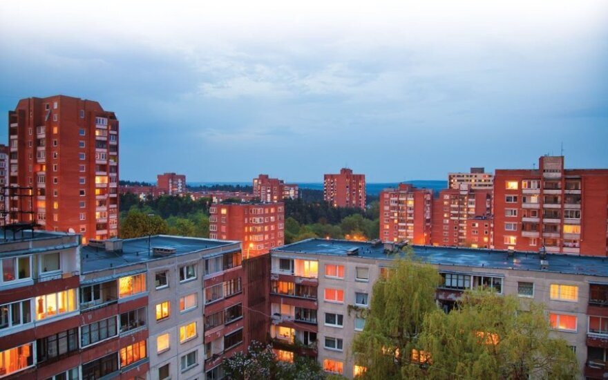 Price of residential real estate in Vilnius continues to grow