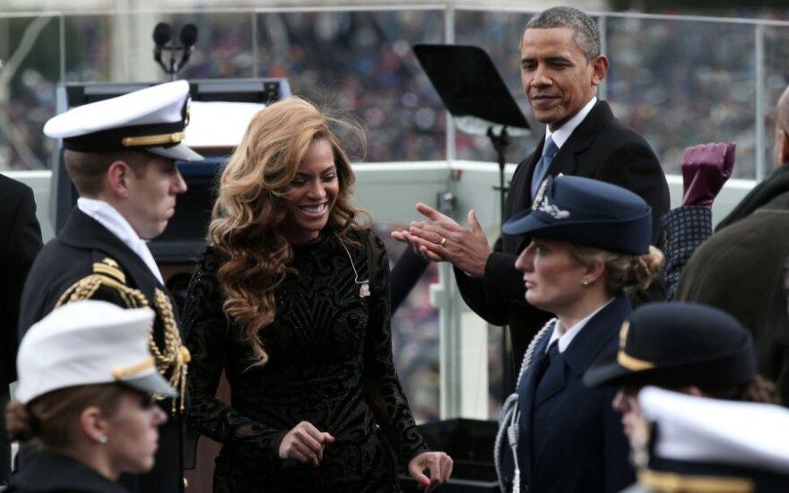 Beyonce per Baracko Obamos inauguracija