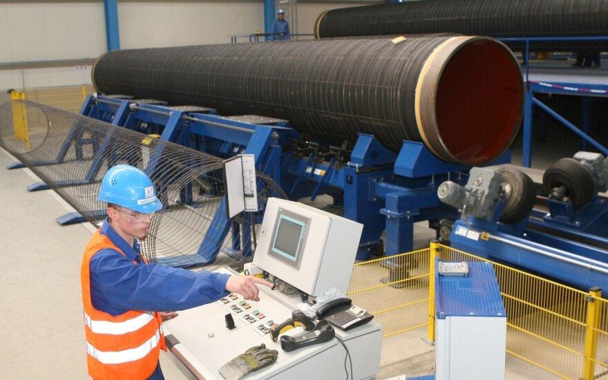 """Rusija ketina vasarą išduoti leidimus tiesti """"Nord Stream 2"""""""