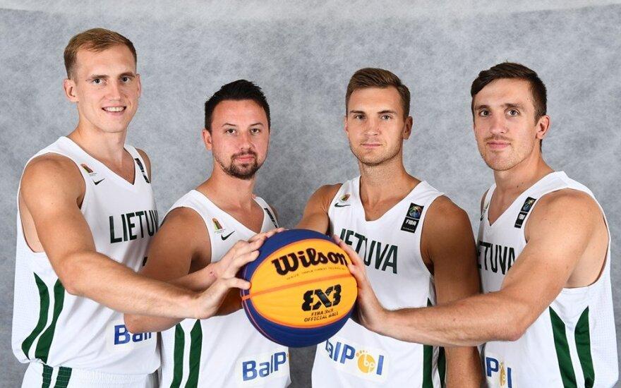 Lietuvos 3x3 krepšinio rinktinė