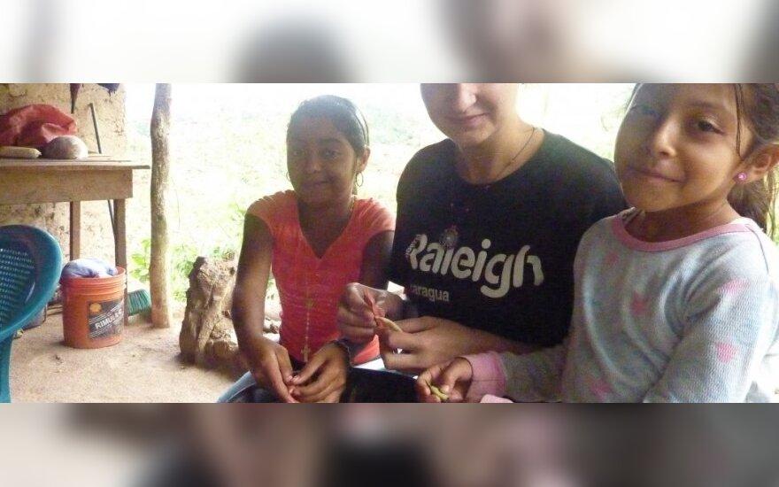 Dešimt savaičių Nikaragvoje: žmonės ten neturi nieko, prie ko mes pripratę šiandien