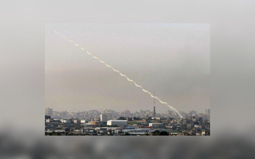 Izraelis smogė kontrabandininkų tuneliui Gazos ruože