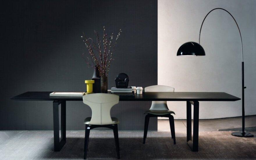 Kokias dizaino madas diktuoja italų baldų gamintojai?