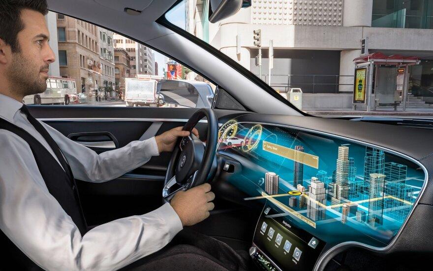 """""""Continental"""" kuriama šviesos lauko ekranų technologija"""