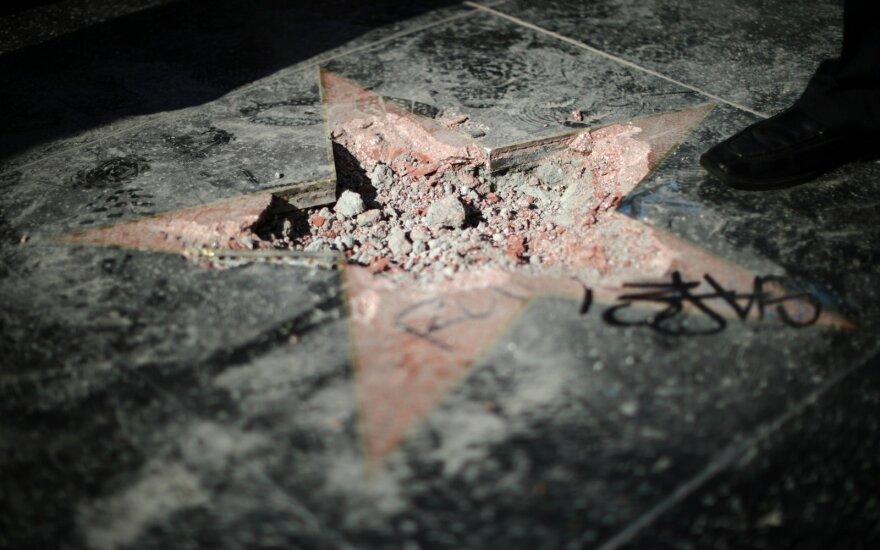 Donaldo Trumpo žvaigždė