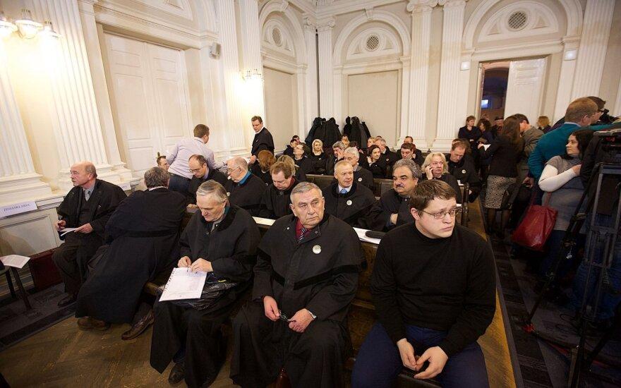 Istorinis Sausio 13-osios bylos posėdis: M. Golovatovui pranešimas apie įtarimą neįteiktas