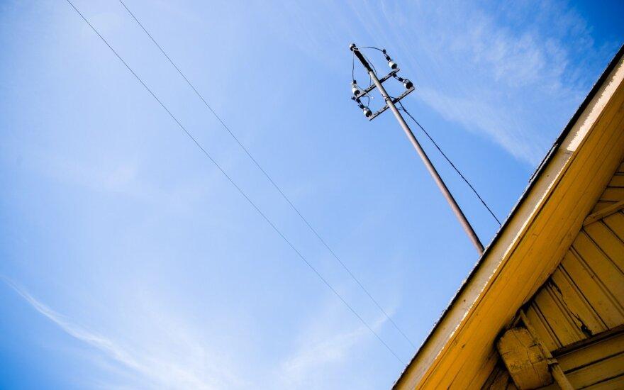 ESO įpareigota prijungti vartotojus prie elektros tinklo