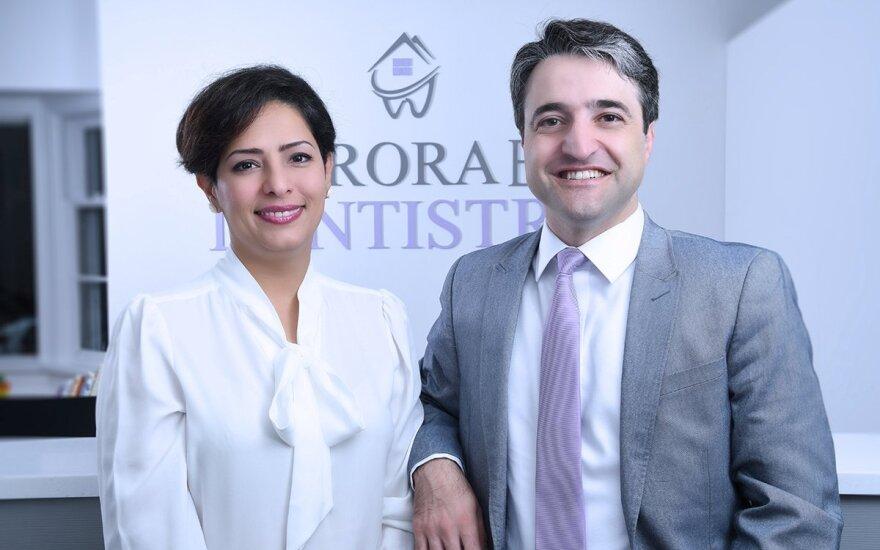 Parisa Eghbalian su vyru Hamedu Esmaeilio
