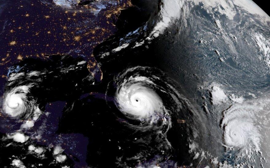 Irma, Jose, Katia