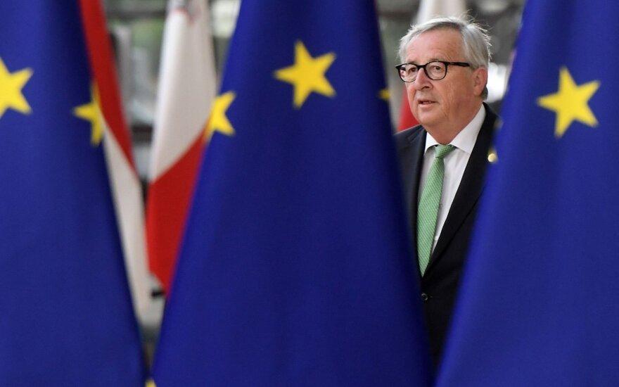 Europos Komisijos pirmininkas Jeanas-Claude'as Junckeris