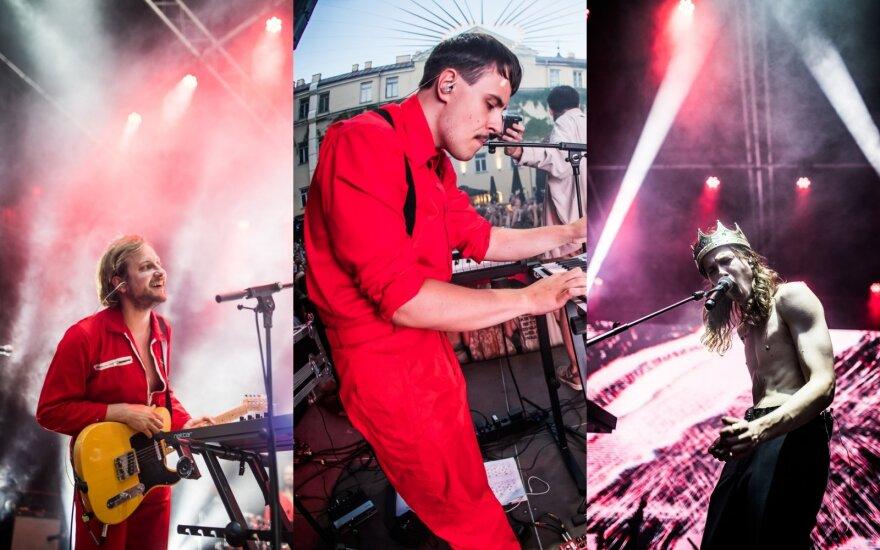 """Alternatyvios muzikos grupė """"Abudu"""" surengė koncertą, kurio metu pristatė filmą apie """"Gaisrą"""" / Foto: Martynas Vitėnas"""