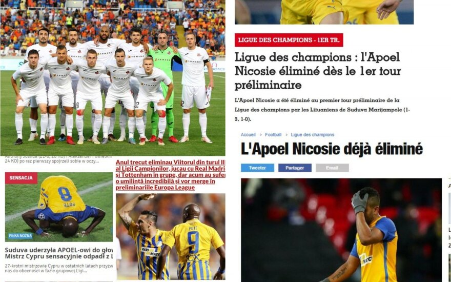 """Sūduvos"" pergalė nustebino Europos futbolo bendruomenę"
