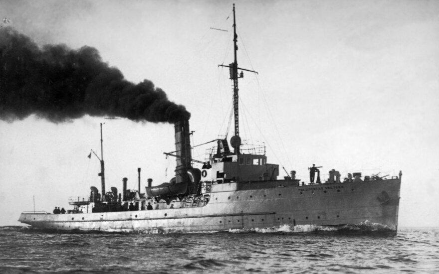 """Karo laivas """"Prezidentas Smetona"""""""