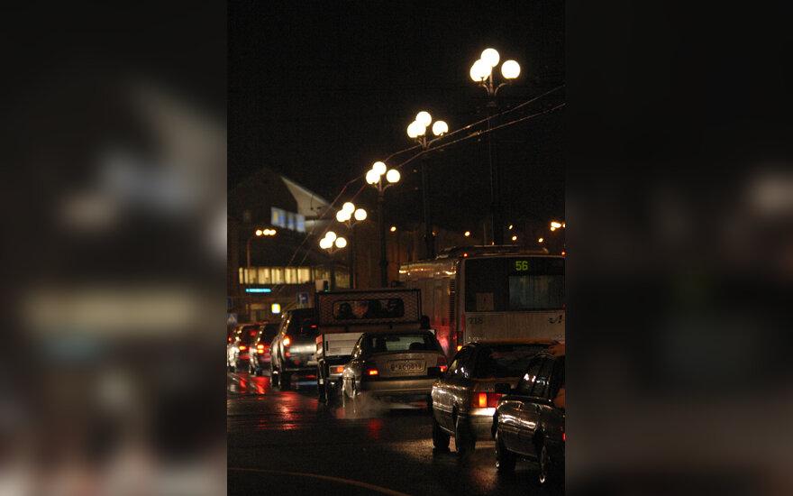 Transporto spūstys gatvėse