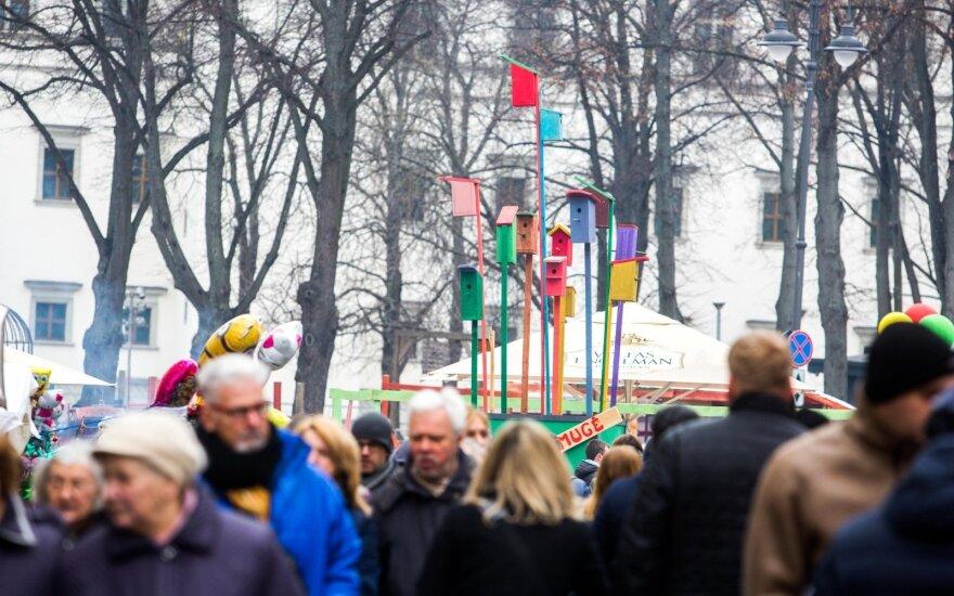 Vilniuje prasideda Kaziuko mugė: centrines miesto gatves sukaustė spūstys
