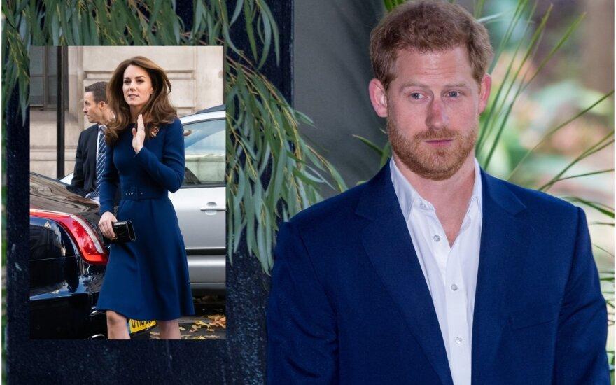 Kate Middleton, princas Harry