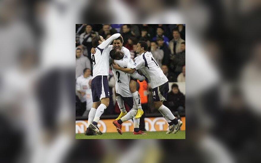 """""""Tottenham Hotspur"""" futbolininkai"""