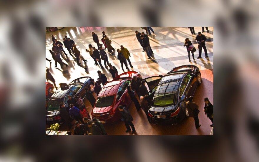 Prancūzijoje parduota daugiausiai automobilių nuo 2001 m.