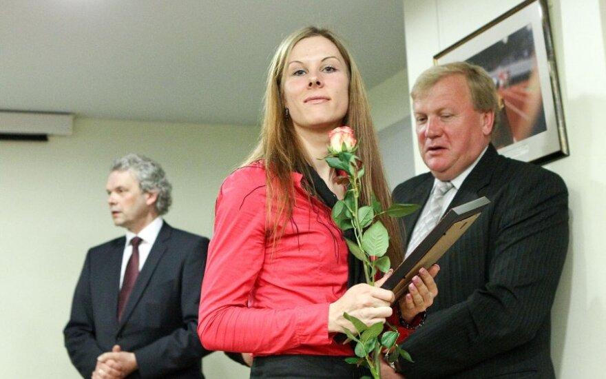 Apdovanota Vilija Sereikaitė