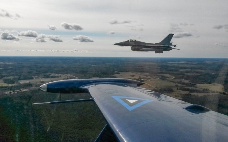 Per savaitę virš Baltijos jūros išlydėti penki Rusijos kariniai orlaiviai