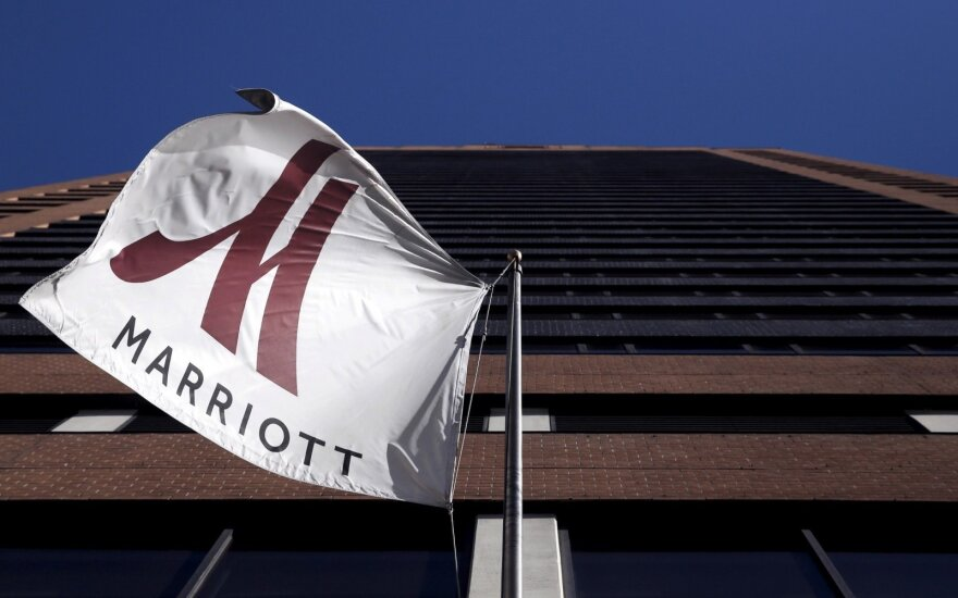 """Viešbučių tinklas """"Marriott"""" susilaukė baudos už prarastus klientų asmens duomenis"""