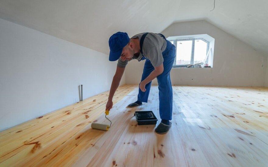 Kaip remontuoti būstą, kad paskui kišenėse nešvilpautų vėjai?