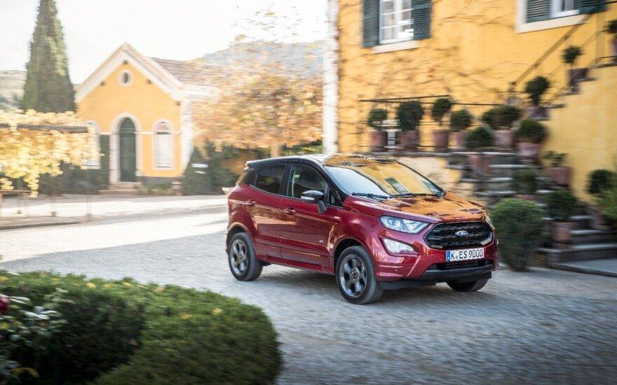 """""""Ford"""" pristatė naują """"EcoSport"""" versiją"""
