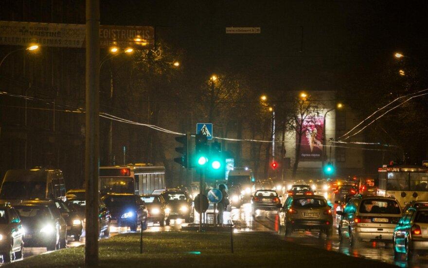 Bliūkšta viltys dėl spūsčių Vilniuje: liko vienintelis išsigelbėjimas