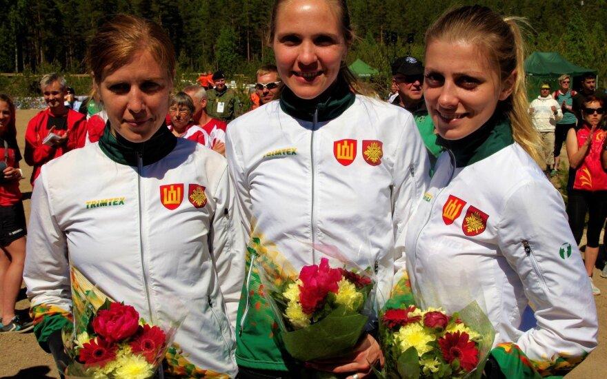 Lietuvos kariškėms – pasaulio čempionato bronza (LOSF nuotr.)