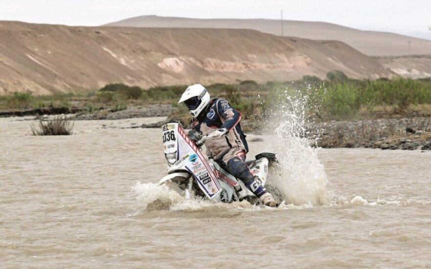 G. Igariui ir Lietuvoje netrūksta Dakaro adrenalino