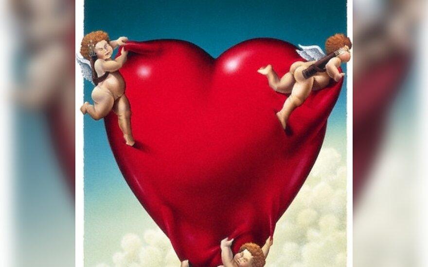 Meilė, širdis