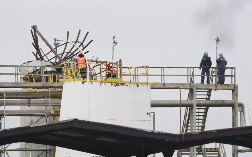 Čekijoje per sprogimą chemijos įmonėje žuvo mažiausiai šeši žmonės